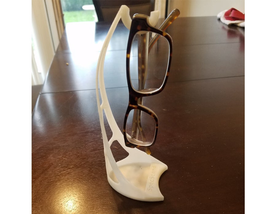 3D printed glasses stand