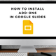 how to install addons in google slides