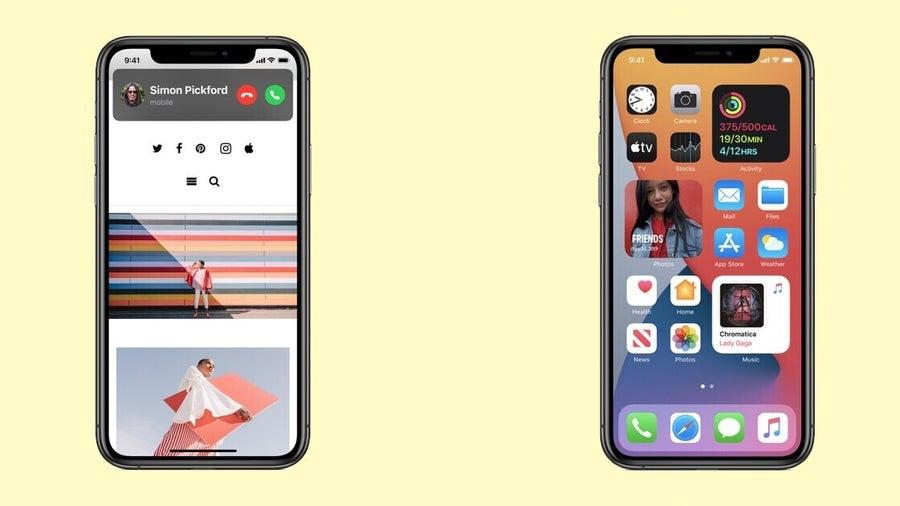 Visual Updates iOS 14