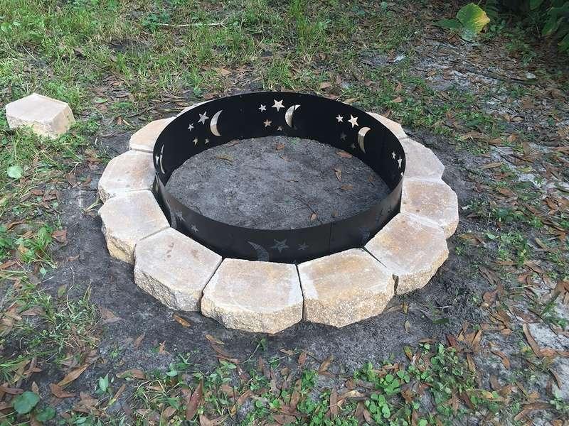 None - My $75 DIY Fire Pit - Howchoo