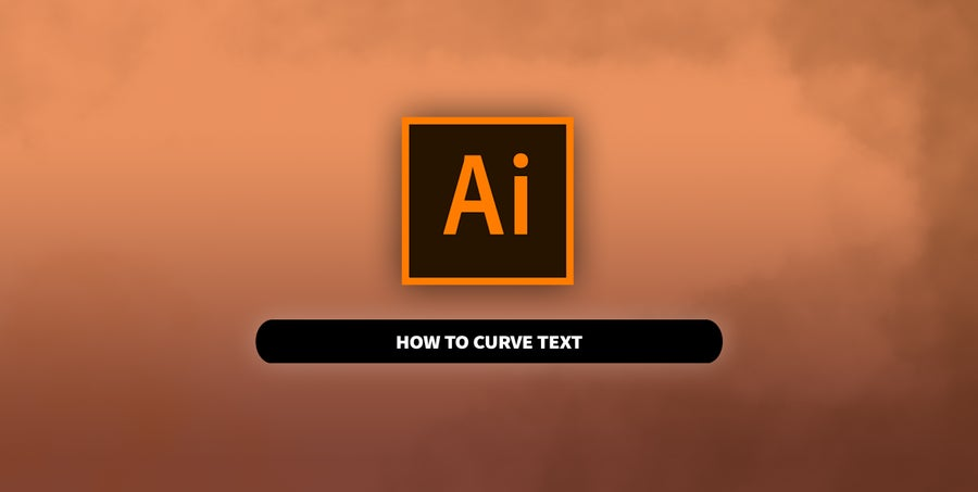 Curve Text in Adobe Illustrator