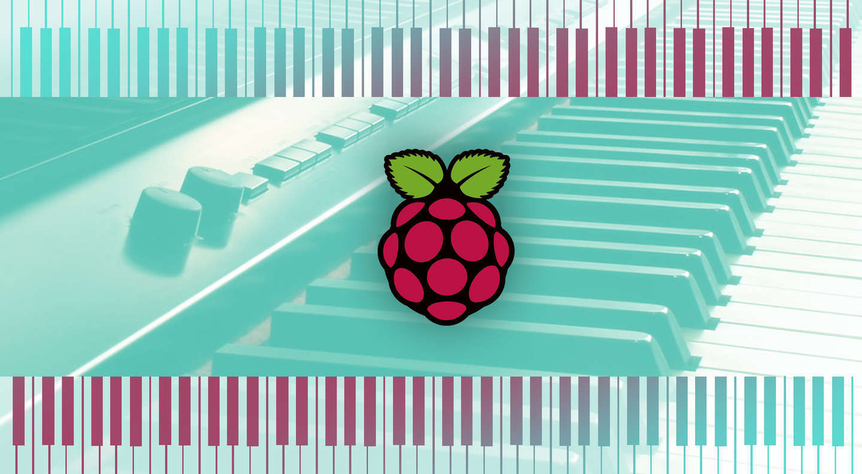 MIDI keyboard synthesizer