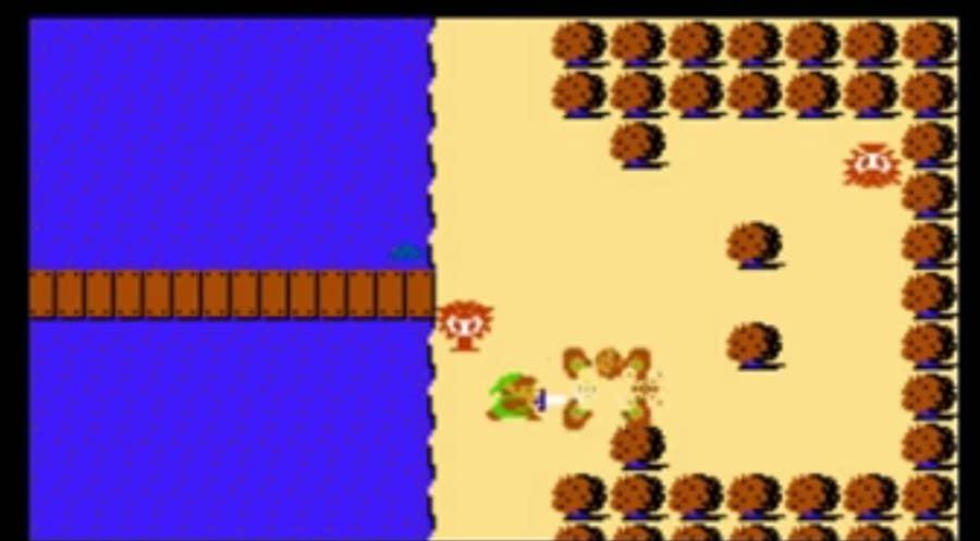 Legend of Zelda Original Gameplay