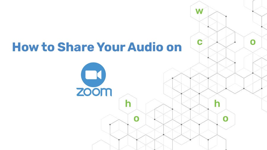 How to Share Your Audio on Zoom