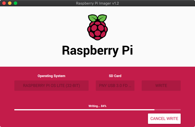 Flash Raspberry Pi OS onto your USB drive