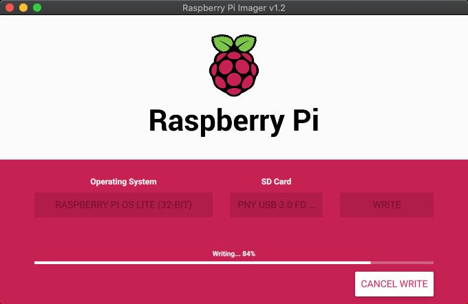 Flash Raspberry Pi OS onto your USB drive