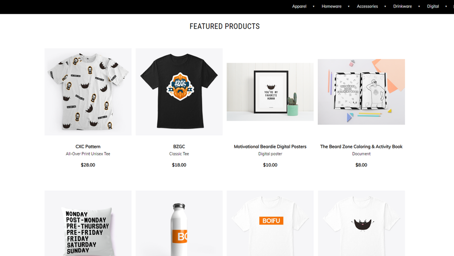 free content creation tool teespring spring