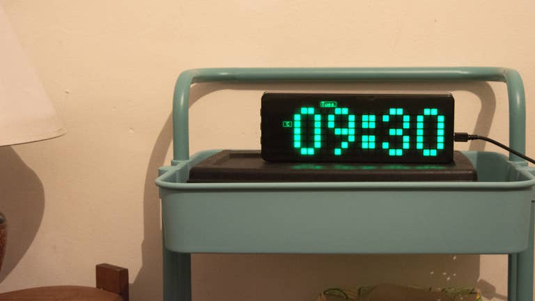 Waveshare Raspberry Pi Pico Clock