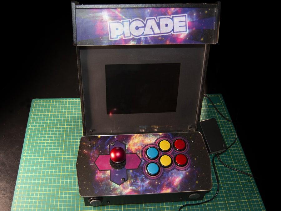 Picade raspberry pi arcade cabinet