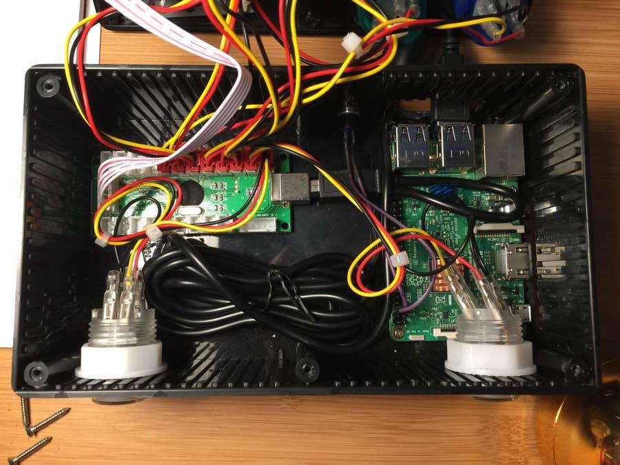 The Retrobox circuitry