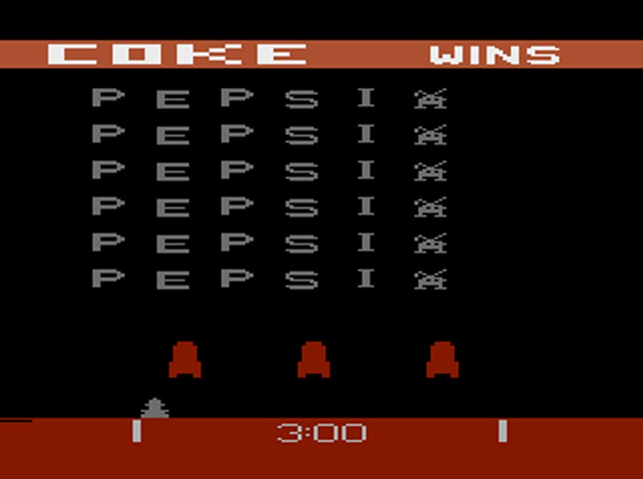 Pepsi Invaders