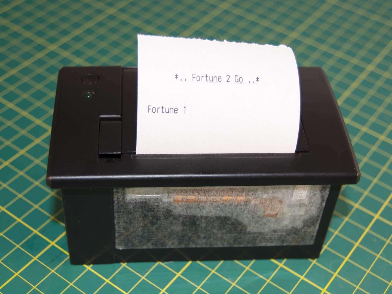 Adafruit printer custom receipt
