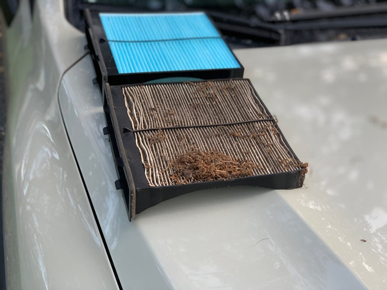 Replace Subaru Crosstrek cabin air filter
