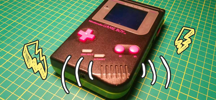 How to fix speaker whining on a backlit Game Boy