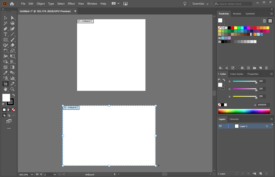 Adobe Illustrator Add Artboard