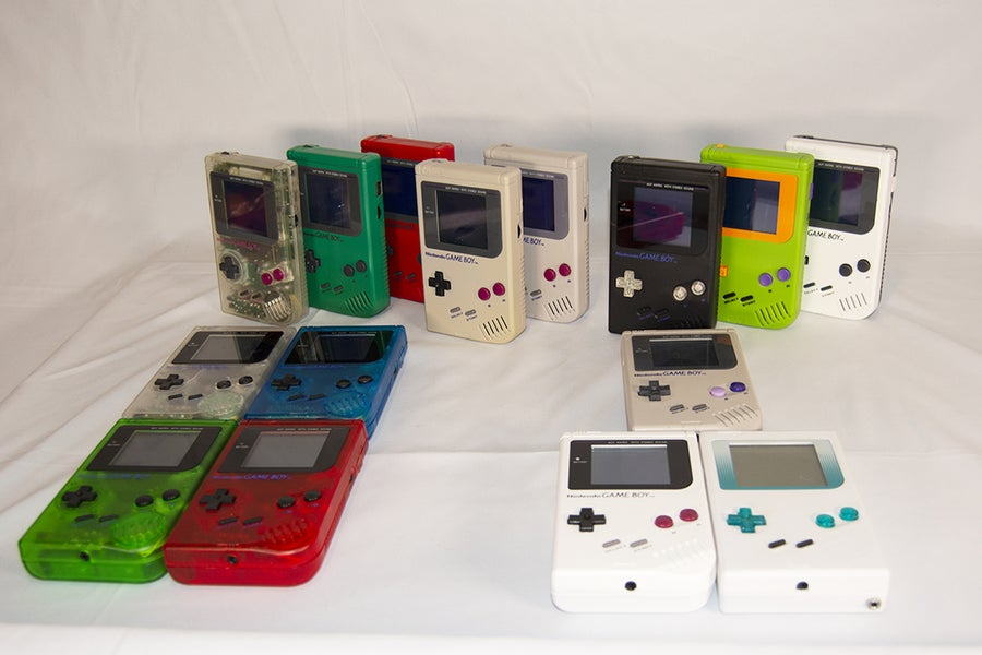 Backlit Game Boy