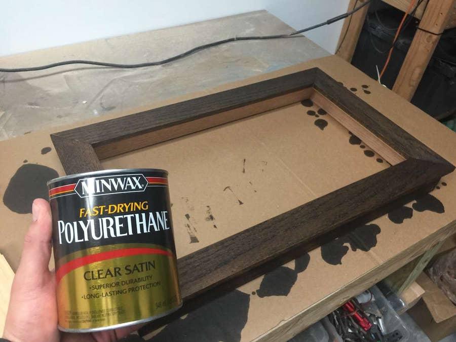 Sealing the frame