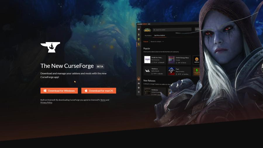 download curseforge app