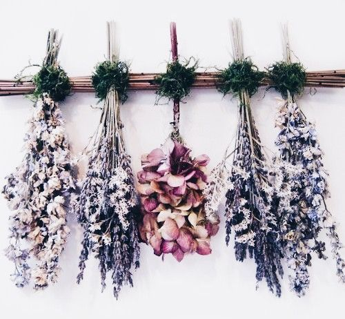 dried flowers deodorizer
