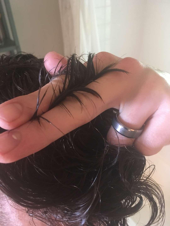 Cut with scissors