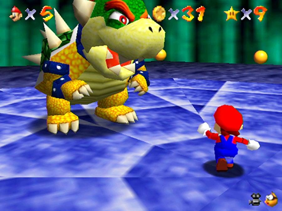 Bowser Super Mario 64