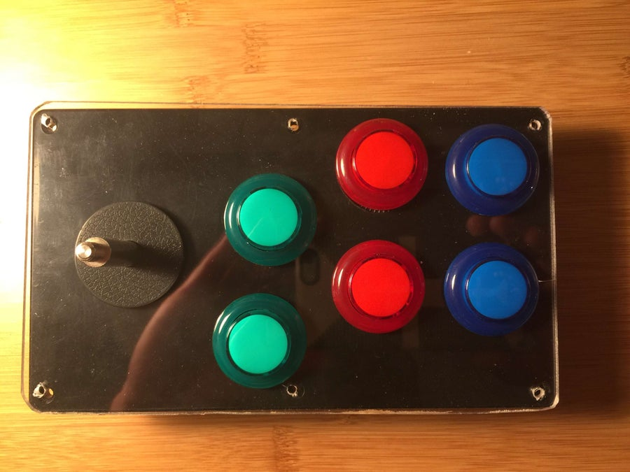 Test fitting the buttons and plexiglass