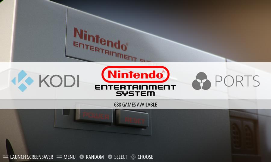 RetroPie Kodi context menu item