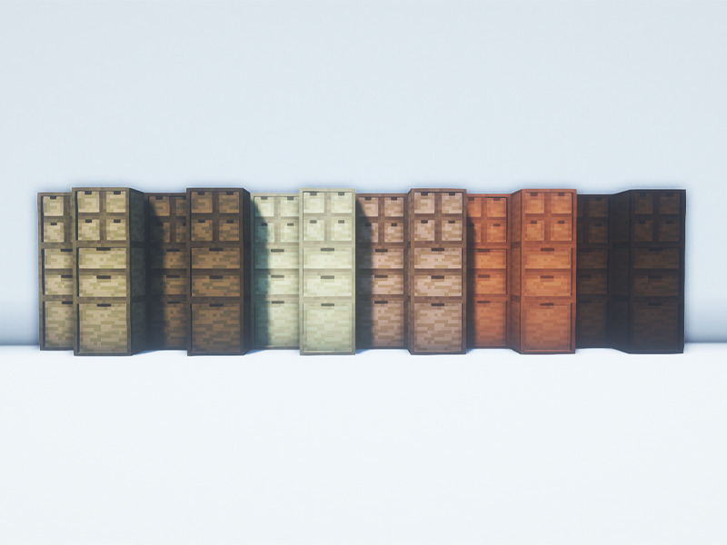 storage drawers forge mod minecraft
