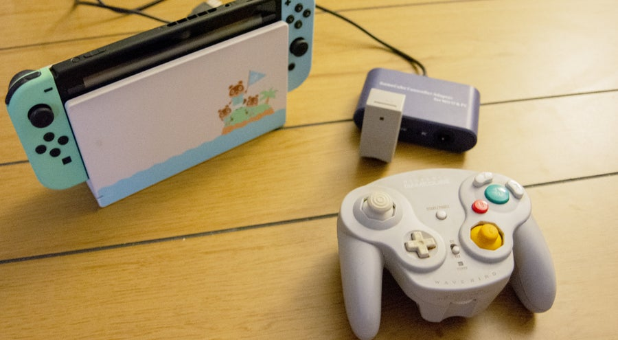 Connect GameCube Controller to Switch
