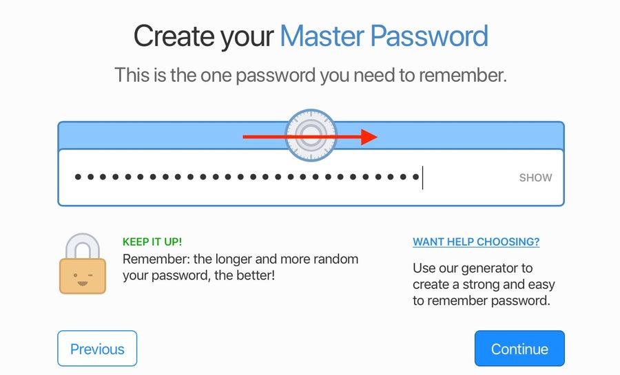MasterPassword 1Password