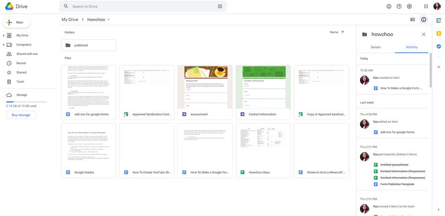create a survey google forms google drive