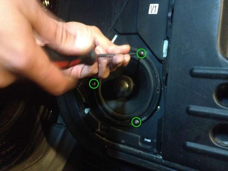 Remove the speaker