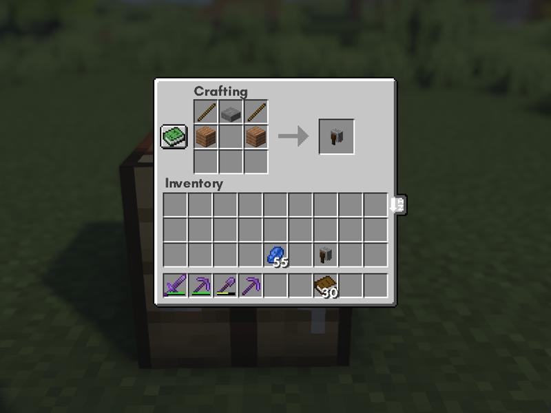 grindstone recipe minecraft