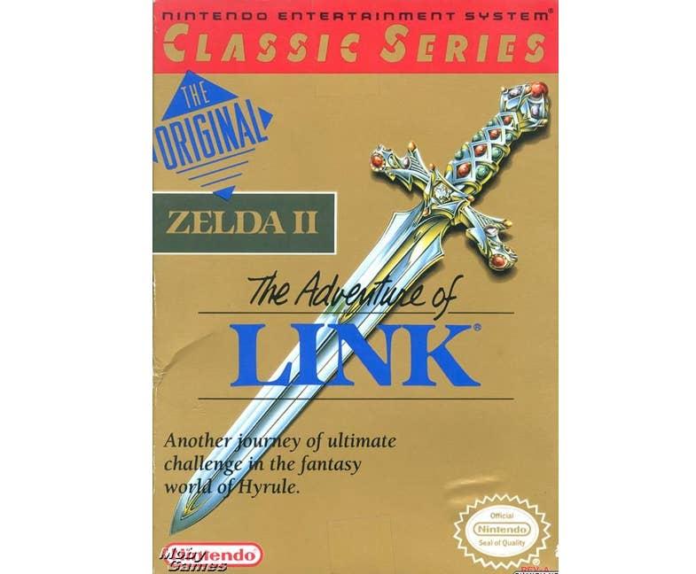 The Legend of Zelda II