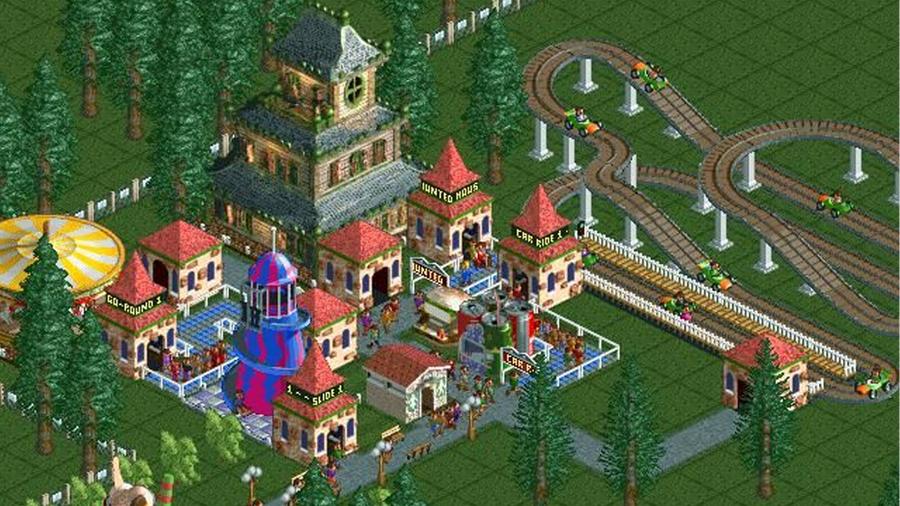 rollercoaster tycoon classic 1999 chris sawyer