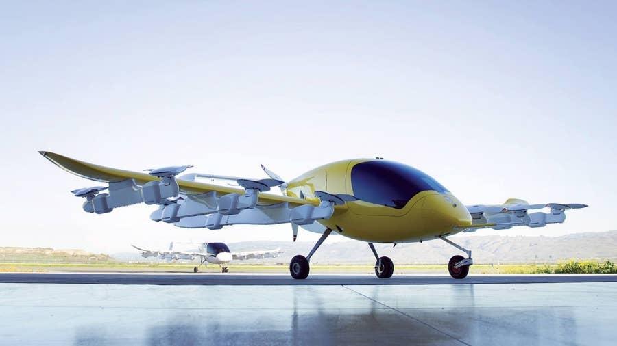 Kittyhawk Cora air taxi.