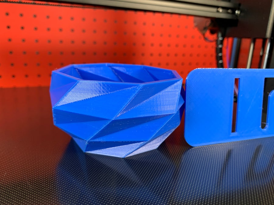 Anycubic Mega X test prints