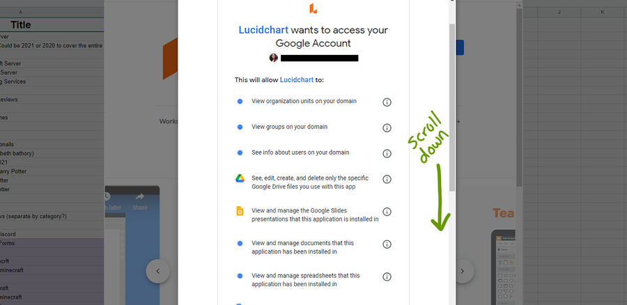 install addon google sheets