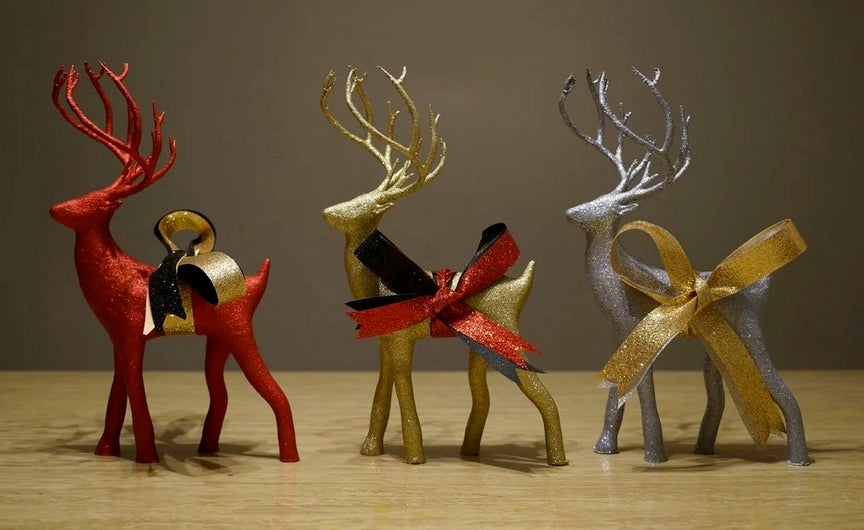 Holiday Deer 3D printed