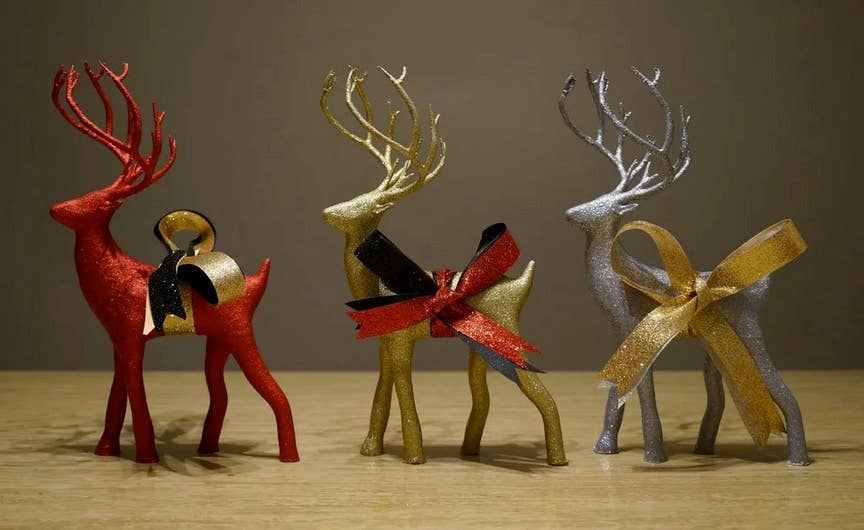 Holiday Deer 3D printed