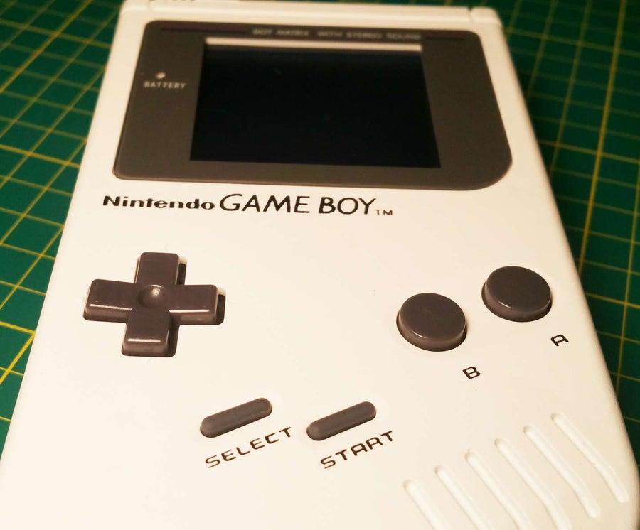 Custom Game Boy buttons