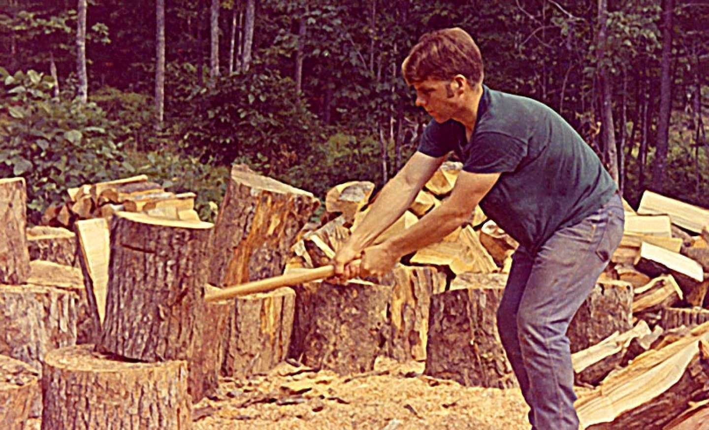 How to Split Firewood