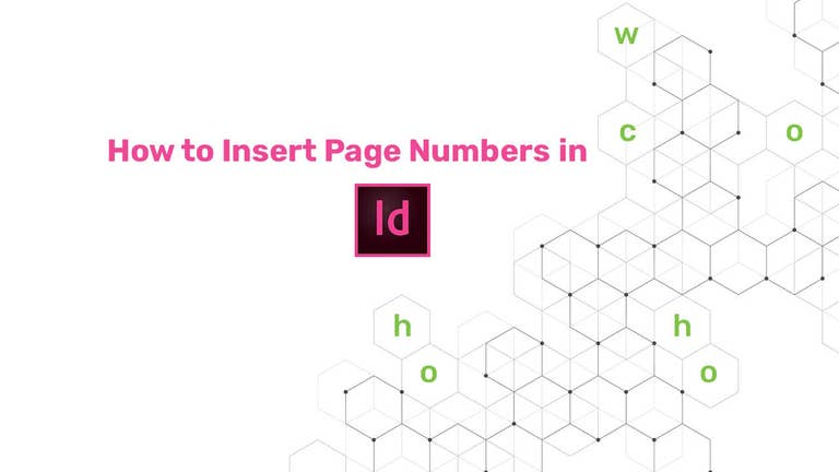 How to Insert Page Numbers in InDesign