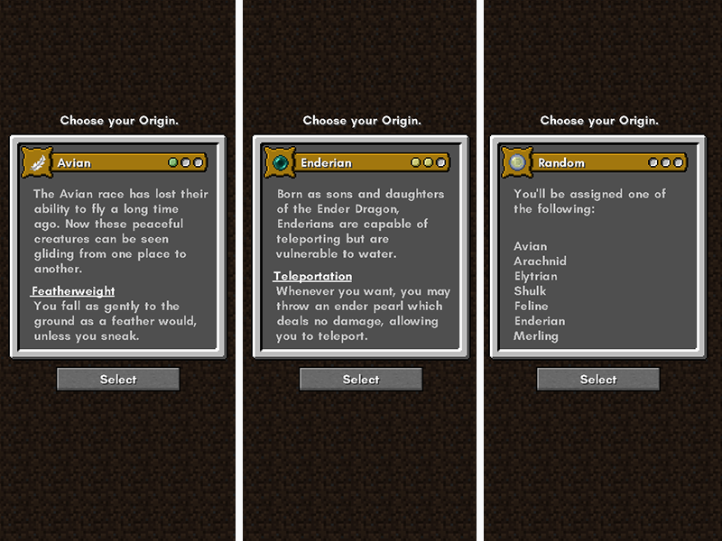 origins smp mod minecraft forge
