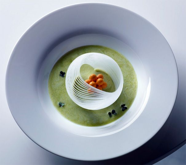 3D printed soup