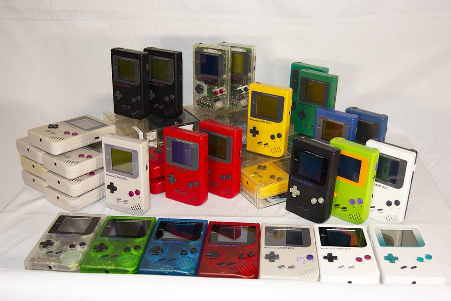 Complete Game Boy collection