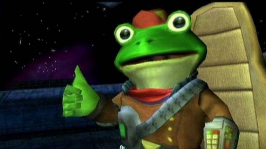 Slippy Toad from Star Fox