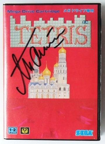 Tetris Autographed