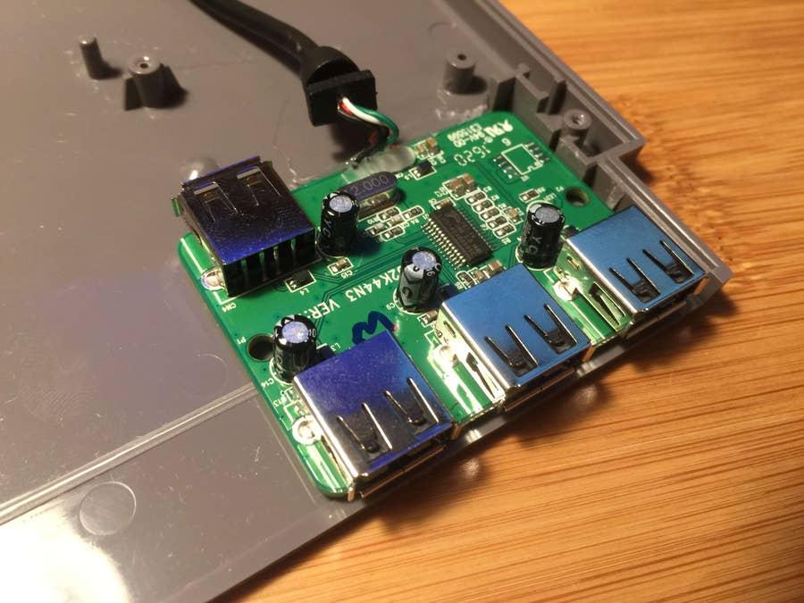 Pi Cart USB hub