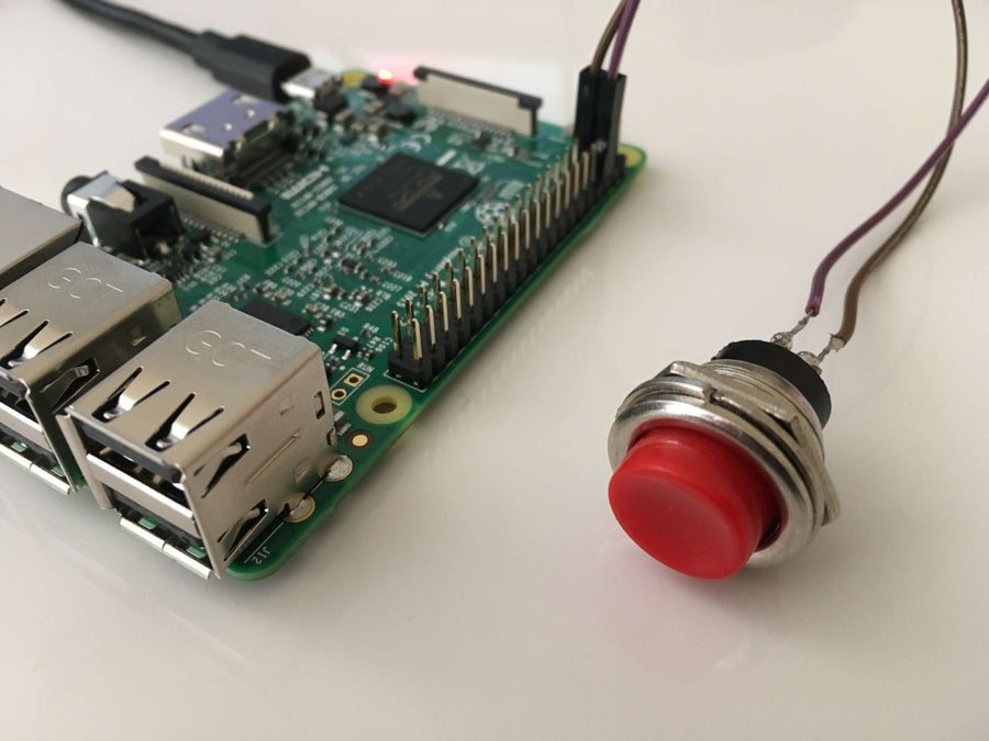 Raspberry Pi power button